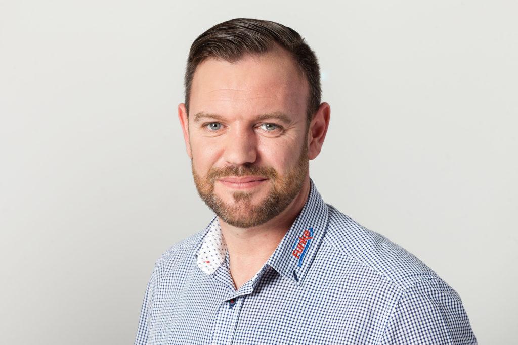 TeamFunke Geschäftsführer Sven Ahlers